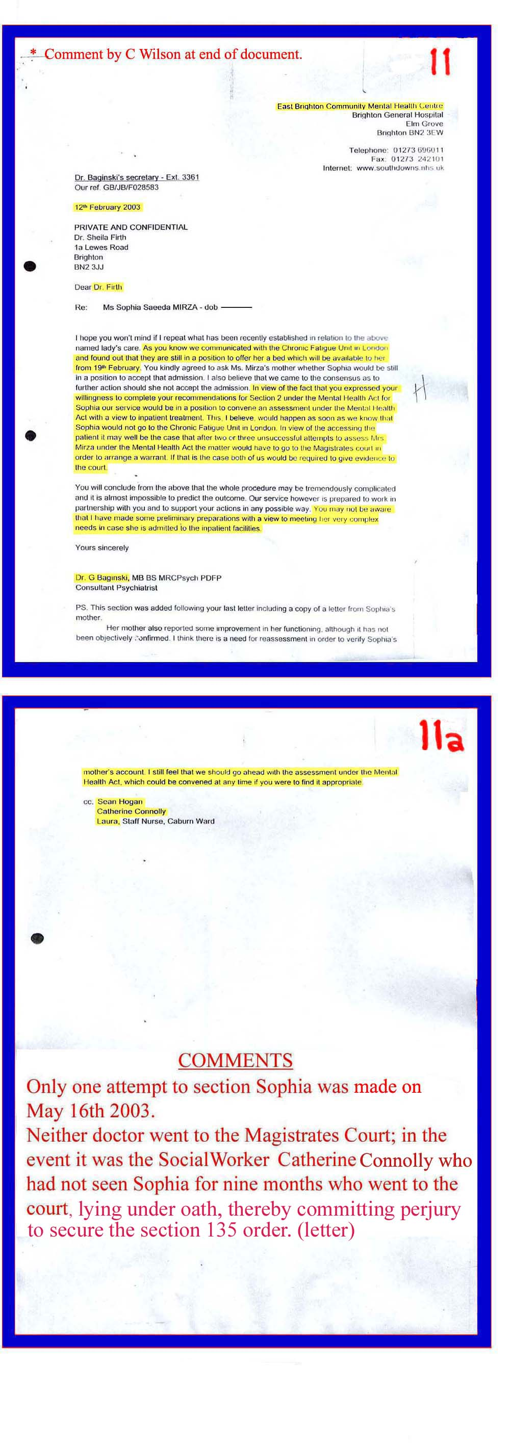 Social services 11 12 02 2003 dr baginski dr firth confirming admission under section 2 should sophia refuse to go into the chronic fatigue unit in romford spiritdancerdesigns Images